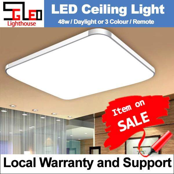 LED 48W Apple Rectangle Ceiling Light 48W (Daylight)