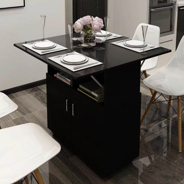 local seller table and cabinet cna easy to change Foldable Smart Dinning Table - Space Saver , filing cabinets, storage cabinet.  coffee table, office table. office stands, office furniture, kitchen and dining furniture.