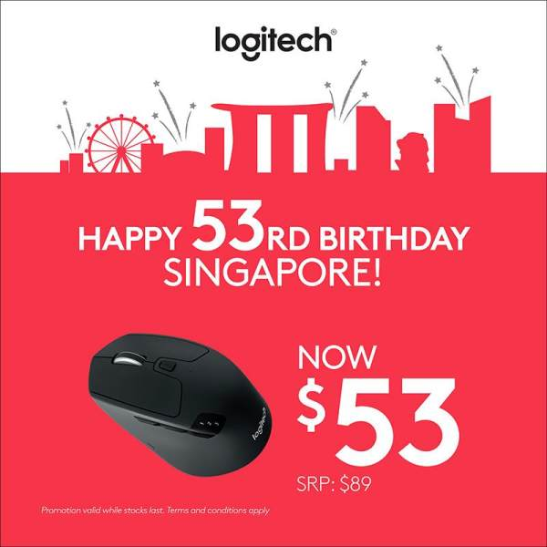 Logitech M720 Multi Device Bluetooth and Wireless Mouse with Logitech Flow, Gesture Control and Wireless File Transfer #NationalDay2018