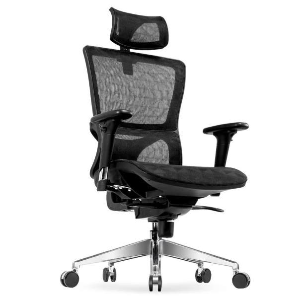 UMD Ergonomic High Back Reclinable Mesh Office Chair With Adjustable  Armrest U0026 Headrest Singapore