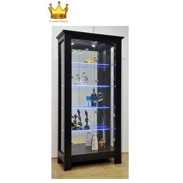 Esther Display Cabinet / Decorative Hall Cabinet / Glass Cabinet