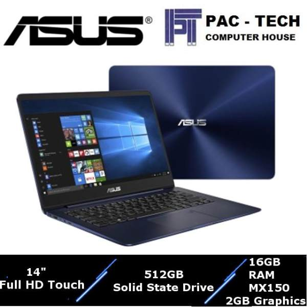 Asus Zenbook (UX430UN-GV027T)/i7-8550U/16GB RAM/512GB SSD/MX150(2GB Graphics)/1 Year Warranty