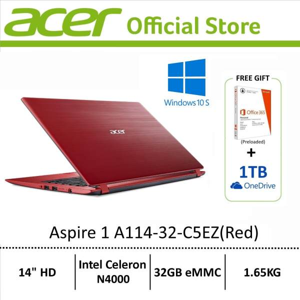 [Latest Model] Acer Aspire 1 (A114-32) 14 HD Light Weight Laptop - Free MSO 365P (Preloaded) (Online Exclusive)