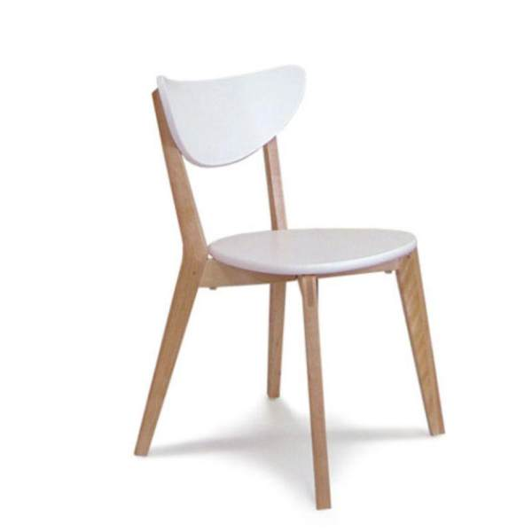 Simple White Office Chair Dining Chair