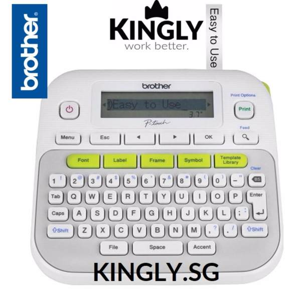 Brother Pt D210 Handheld Label Maker Label Printer P Touch Singapore