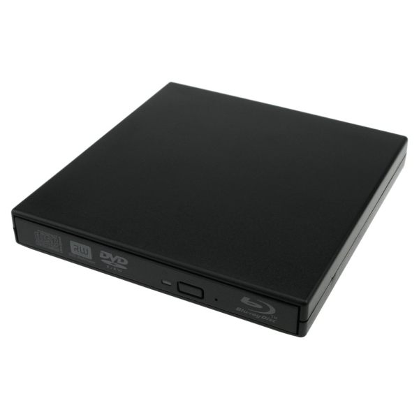 External USB Bluray BD DL DVD CD RW Burner Writer Drive - intl