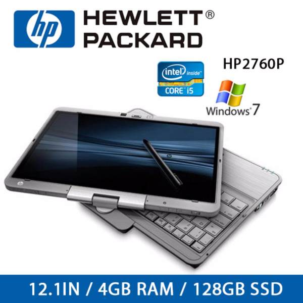 Refurbished HP 2760P Laptop / 12.1 Inch / I5 / 4GB RAM / 128GB SSD / Window 7 / One Month Warranty