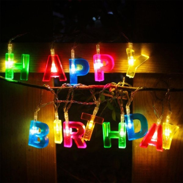 Outdoor Battery Operated Fairy Lights 15 led battery operated string fairy light happy birthday letter 15 led battery operated string fairy light happy birthday letter shaped birthday party led lights for indoor outdoor decor singapore workwithnaturefo