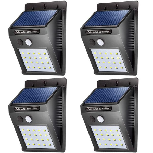 20 led solar lights outdoor waterproof solar powered motion sensor 20 led solar lights outdoor waterproof solar powered motion sensor light wireless security lights outside wall aloadofball Image collections