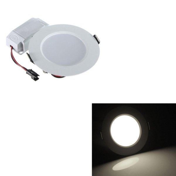 9w round led recessed ceiling down light panel fixture bulb 9w round led recessed ceiling down light panel fixture bulb downlight pure white intl singapore aloadofball Image collections