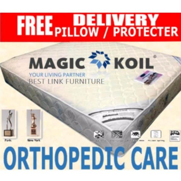 BEST LINK FURNITURE Magic Koil Orthopedic Care Pocketed Spring Mattress (Single)