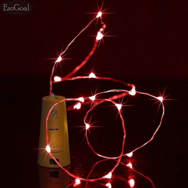 Esogoal wine bottle cork lights 78 inch 200cm 20 led silver wire esogoal wine bottle cork lights 78 inch 200cm 20 led silver wire lights string starry led lights for diy junglespirit Image collections