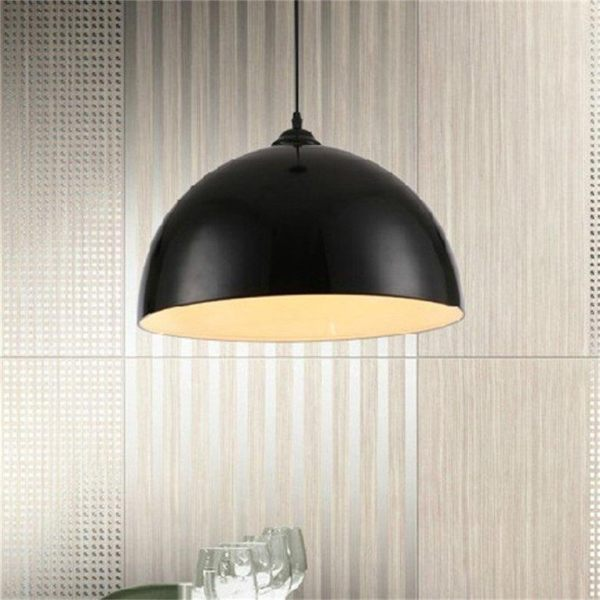 Oh retro style black white red metal ceiling pendant light lamp oh retro style black white red metal ceiling pendant light lamp shade lampshade intl singapore aloadofball Choice Image