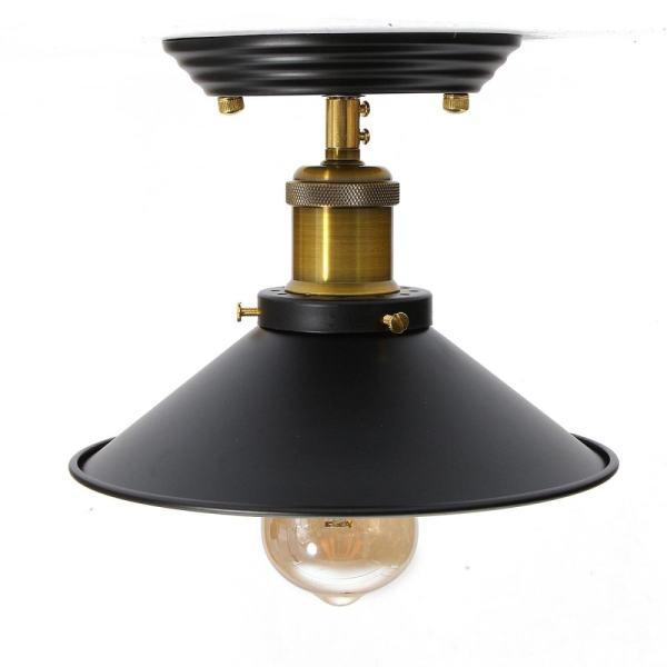 Vintage Iron Fixture Ceiling Lamp Pendant Chandelier Light Decor ...