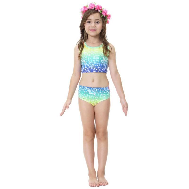 2018 Kids Girls Mermaid Swimming Swimmable Mermaid Tail Swimwear Costume For Swimming Beach Children Bikini Swimmable ...  sc 1 st  Girlsu0027 Clothing & 2018 Kids Girls Mermaid Swimming Swimmable Mermaid Tail Swimwear ...