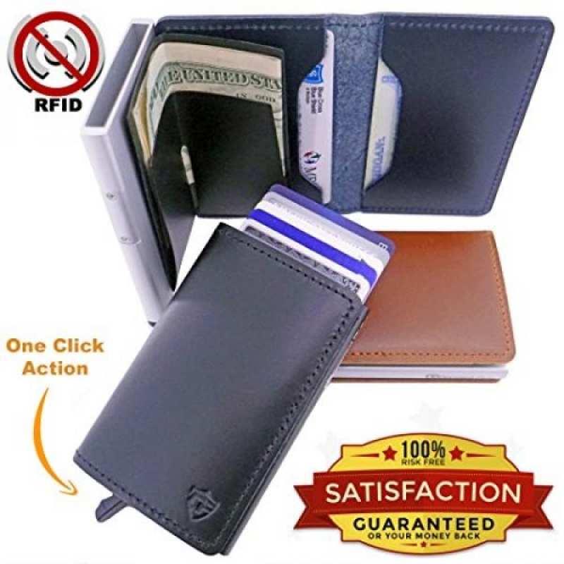 Card Blocr Best Front Pocket Wallets For Men 1 Rfid Blocking Secure Metal Credit Sleeve