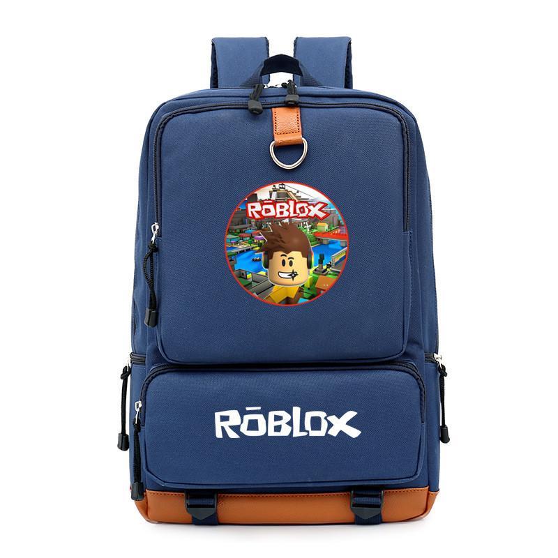 Roblox เกมส์เสริมทักษะเด็กรอบๆกระเป๋าเป้ชายและหญิงกระเป๋าเป้กระเป๋าเดินทางกระเป๋าแล็ปท็อปกระเป๋านักเรียน