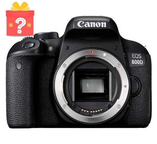 Canon EOS 800D Body + Free Gift Worth $199