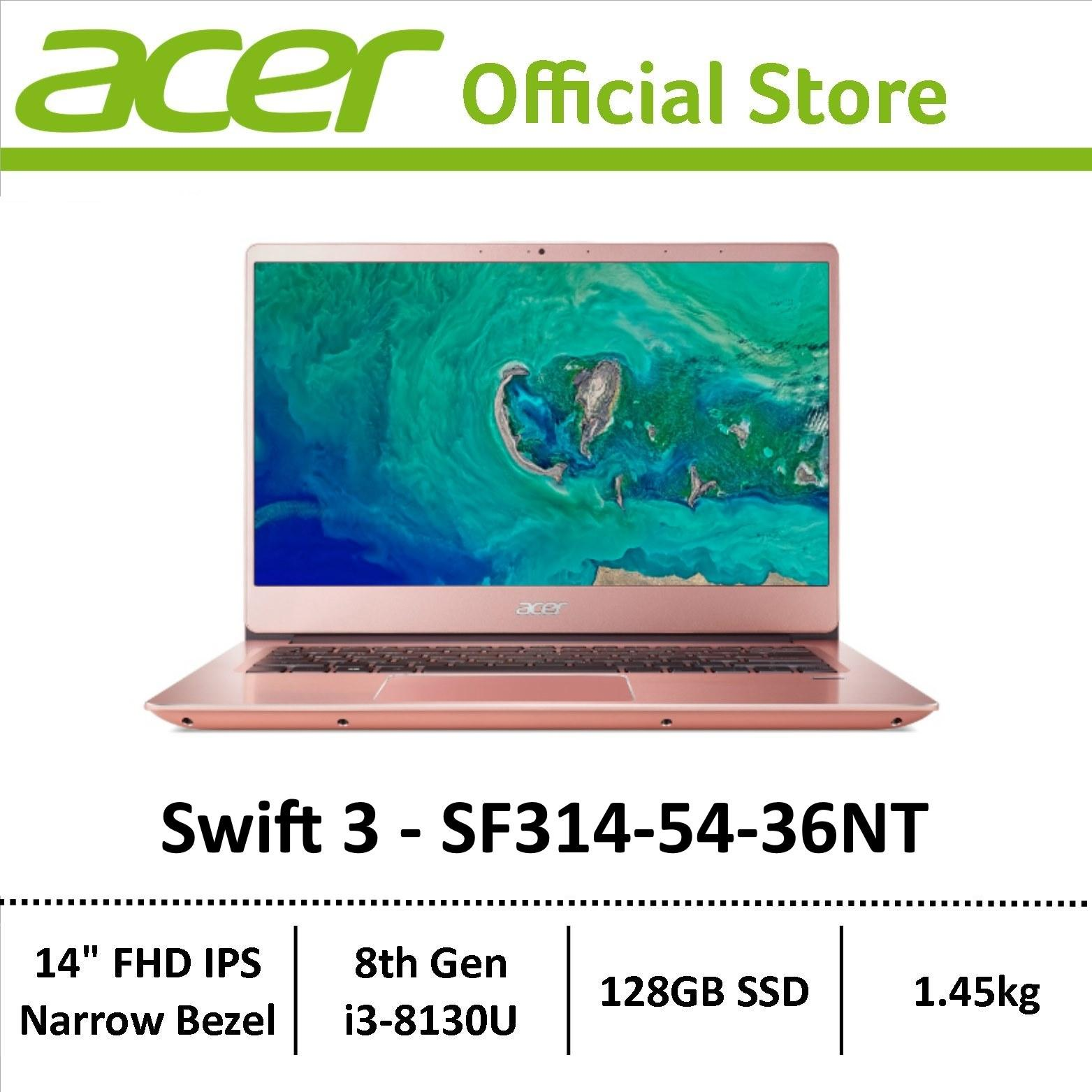 [Online Exclusive] Acer Swift 3 SF314-54 Thin & Light Narrow Border Laptop – Latest Model