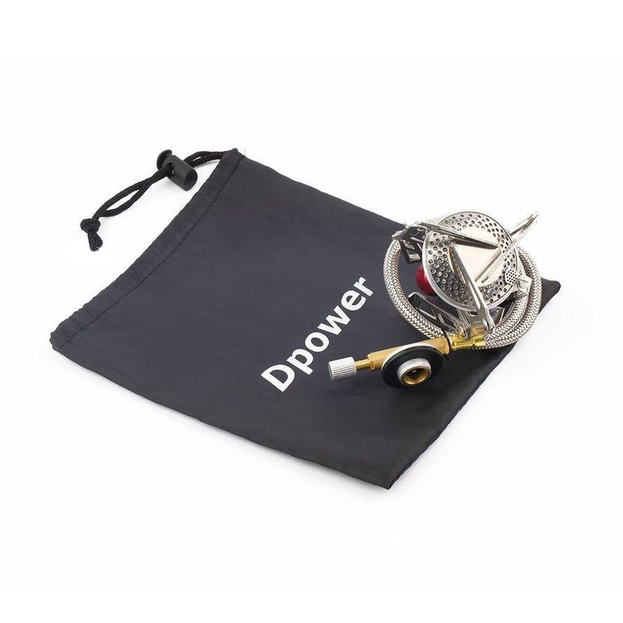 Dpower Mini Portable Folding Camping Gas-powered Stove with Piezo Ignition ND