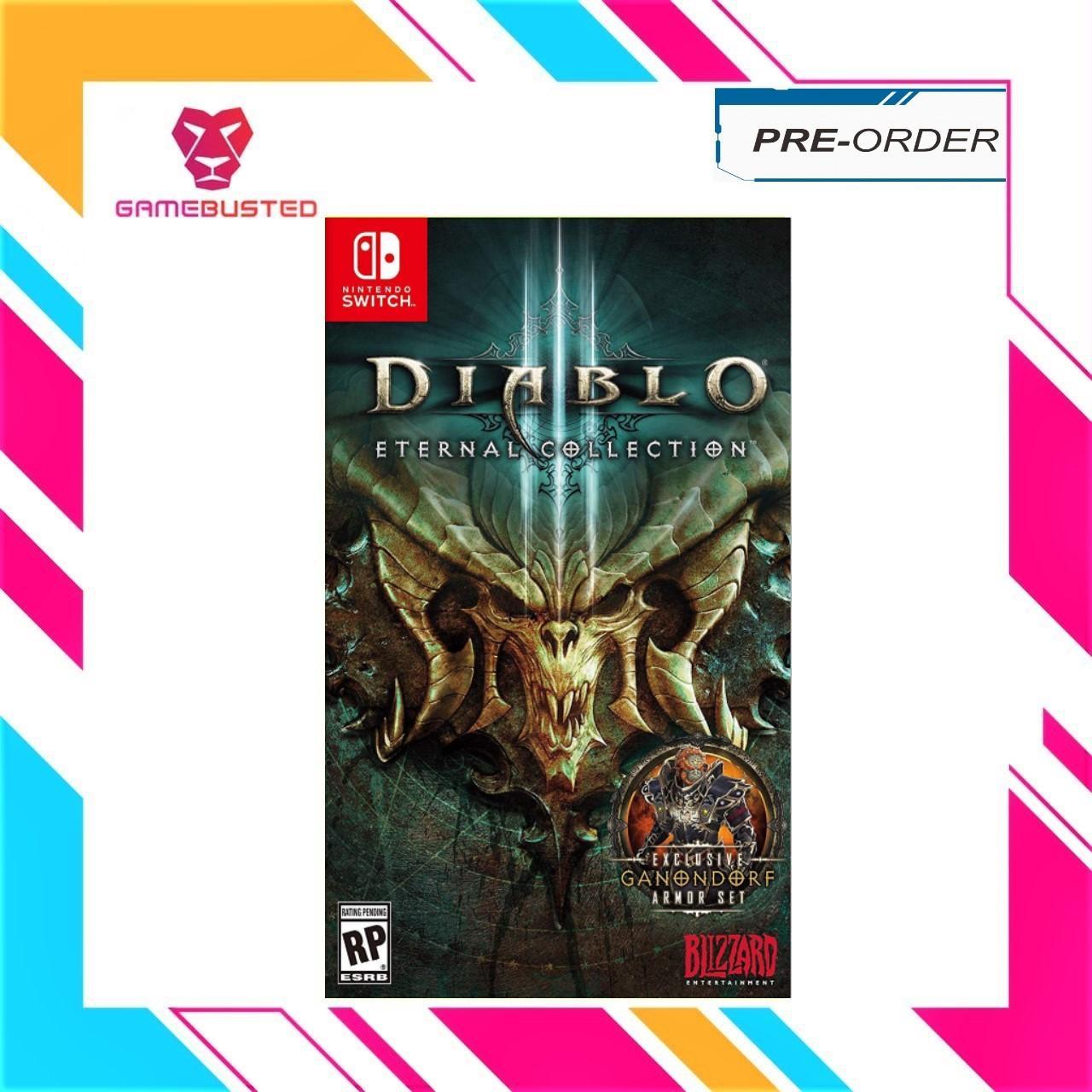[Pre-Order] Nintendo Switch Diablo III Eternal Collection (Earliest Shipping 2nd November 2018)