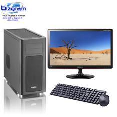 Bizgram Gigabyte MX31 Zeon Server, Intel i3-7100 Processor, MX31-CE0 Motherboard LGA1151, 8GB DDR4 RAM, Samsung 860 EVO 250GB SSD, Free Keyboard-Mouse-Antivirus, 24inch Monitor, 3 Years Warranty