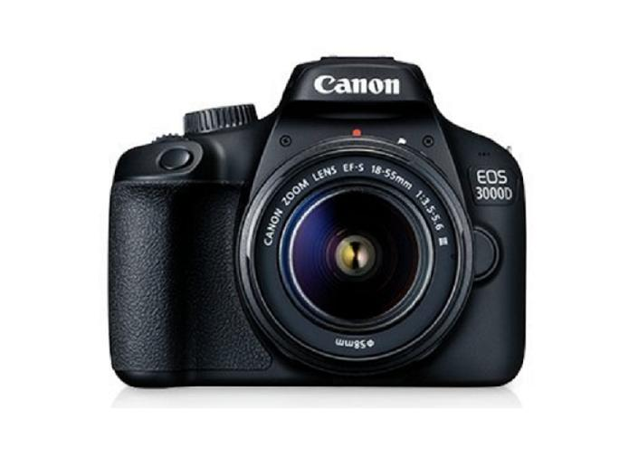 Canon EOS3000D EF-S 18-55 IS II Kit (Export) + Free 16GB Card + Free Canon Original Bag