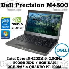[REFURBISHED] Dell Precision M4800 i5-4200M/ 8GB RAM/ 500GB HDD