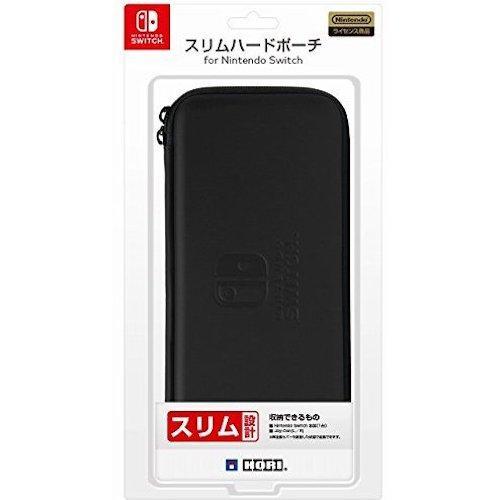 NSW-007 Hori Nintendo Switch Slim Hard Pouch Black–JP