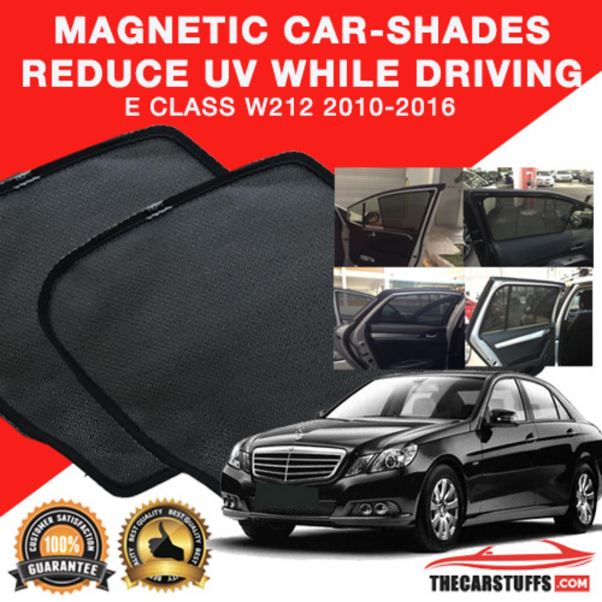 Set Car Shades compatible with Mercedes E-Class W213 Sedan 2016