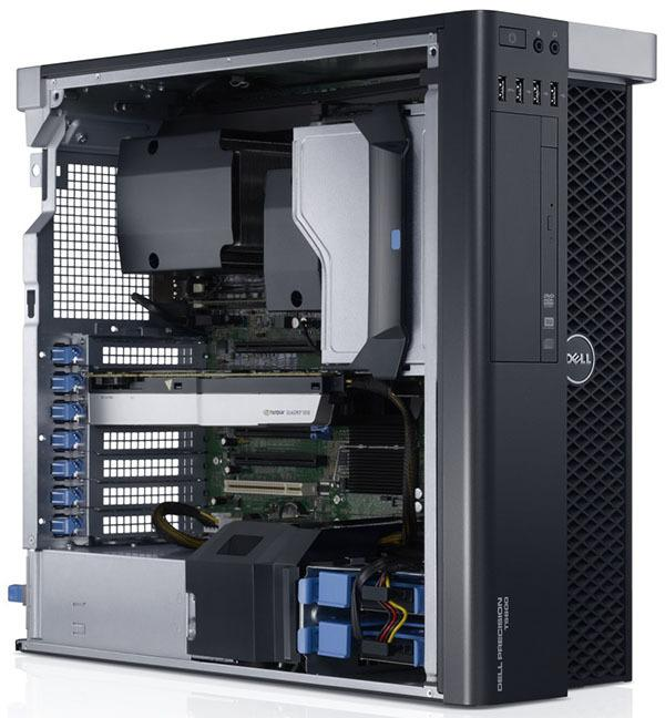 Dell Precision T5600 workstation 12-Core Xeon E5-2620#2.0Ghz 32GB DDR3 180GB SSD + 1TB SATA HDD nvidia GeForce GT 630 dedicated...