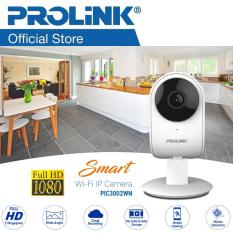 [PROMOTION!] PROLiNK® PIC3002WN Full HD 1080P Smart Wi-Fi IP Camera with night vision/ 2-way Audio