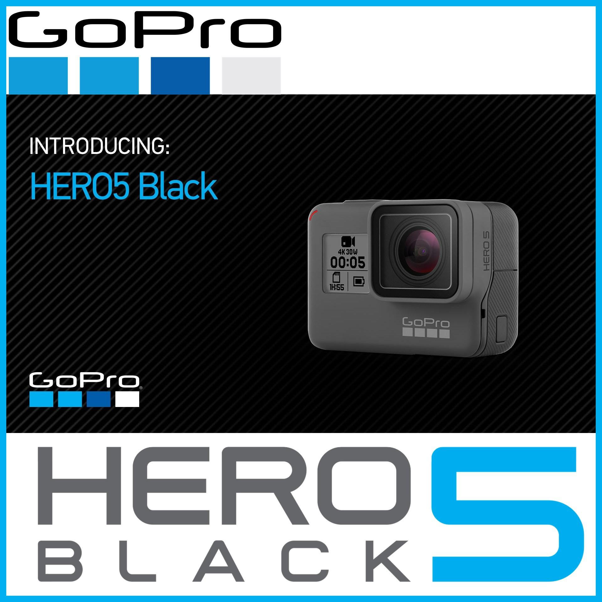 GoPro HERO5 Black + Free 9 Pcs Accessories