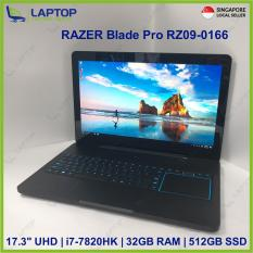 RAZER Blade Pro RZ09-0166 Touch Screen (i7-7/32GB/512GB) @Gaming@ Preowned [Refurbished]