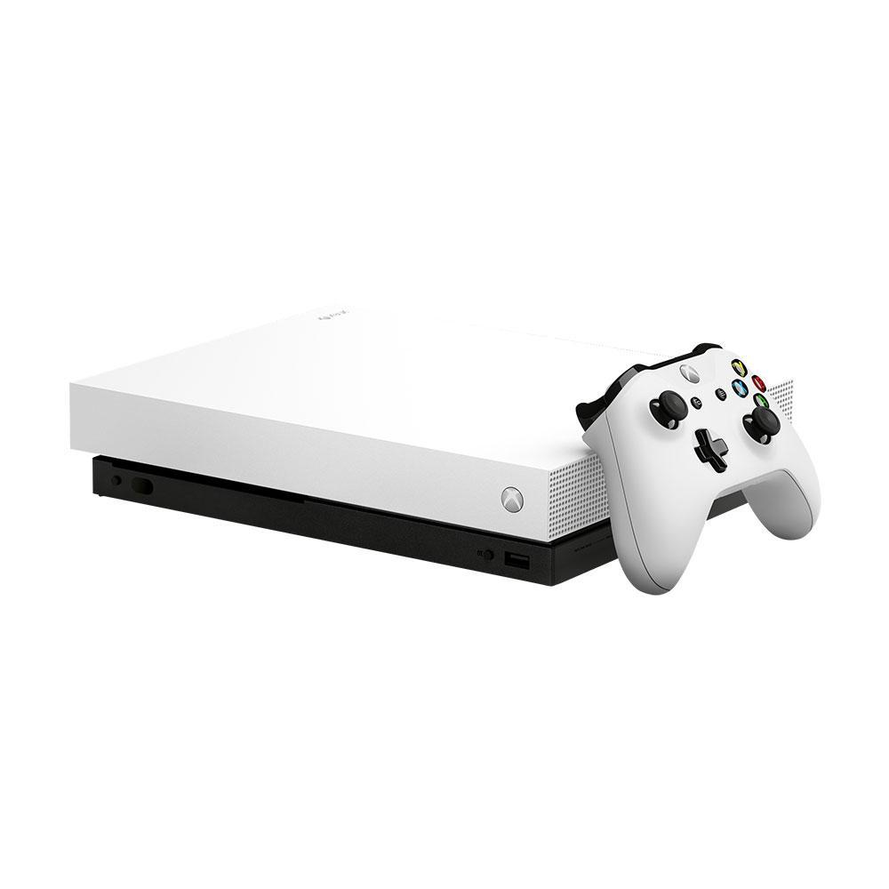 [Game Console Bundle] Xbox One X Edition 1TB Console Forza White LE Console