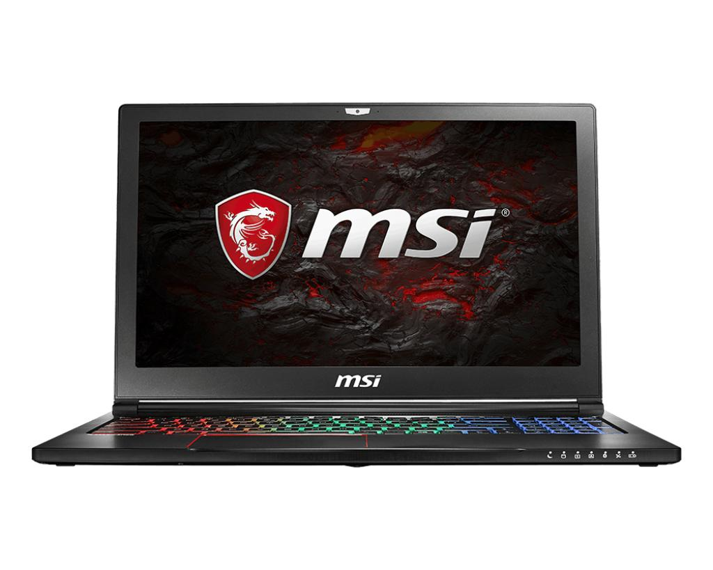 MSI GS63VR 7RG Stealth Pro-086SG (I7-7700HQ/16GB DDR4/256GB SSD +2TB HDD/8GB NVIDIA GTX1070 GDDR5 MAX-Q) GAMING LAPTOP