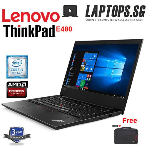 BRAND NEW LENOVO THINKPAD E480 i7 -8550U / 8GB RAM / 1TB HDD / AMDRX550 2GB DDR5 /14