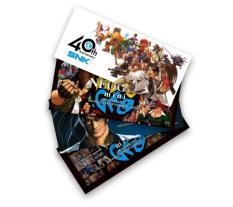NEOGEO mini 40th Anniversary Sticker