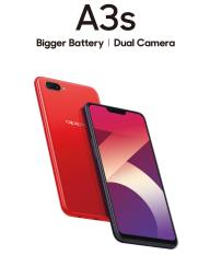 OPPO A3S – 2 years Warranty + Freebies