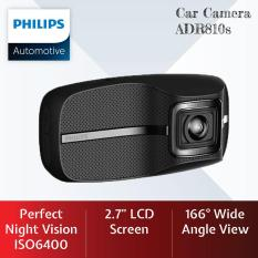 Philips Car Camera Dash Cam Driving Video Recorder ADR810s
