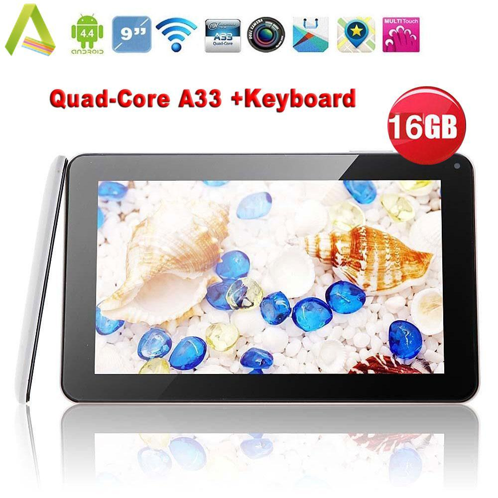 N98 9″ Inch Android 4.4 Tablet PC Quad Core 16GB +Keyboard Case EU White