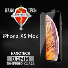 [Buy1Free1]Nanotech iPhone XS Max Tempered Glass Screen Protector [0.2MM][Non-full Coverage]