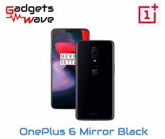 OnePlus 6 Mirror black A6003 128GB/8GB (Local Warranty) – Free Dash Cable