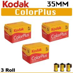 3 Roll Kodak 35mm Color Plus 200 Negative Roll Film 36 Exposure