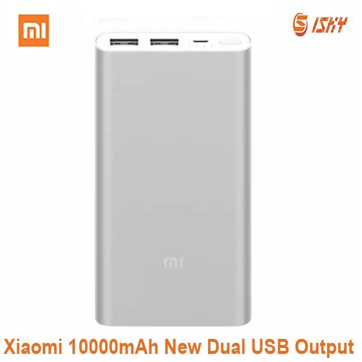 Xiaomi Mi Power Banks 2 10000mAh Dual USB Newest Version