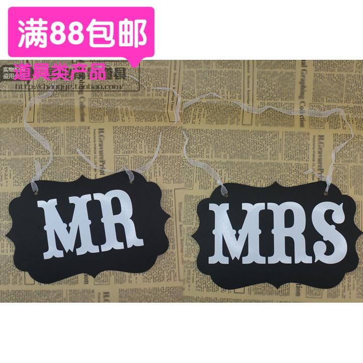 Special Offer Creative Wedding Pull of MR & mr s Chair Latte Art Wedding Bride And Bridegroom Filming Photographic Prop