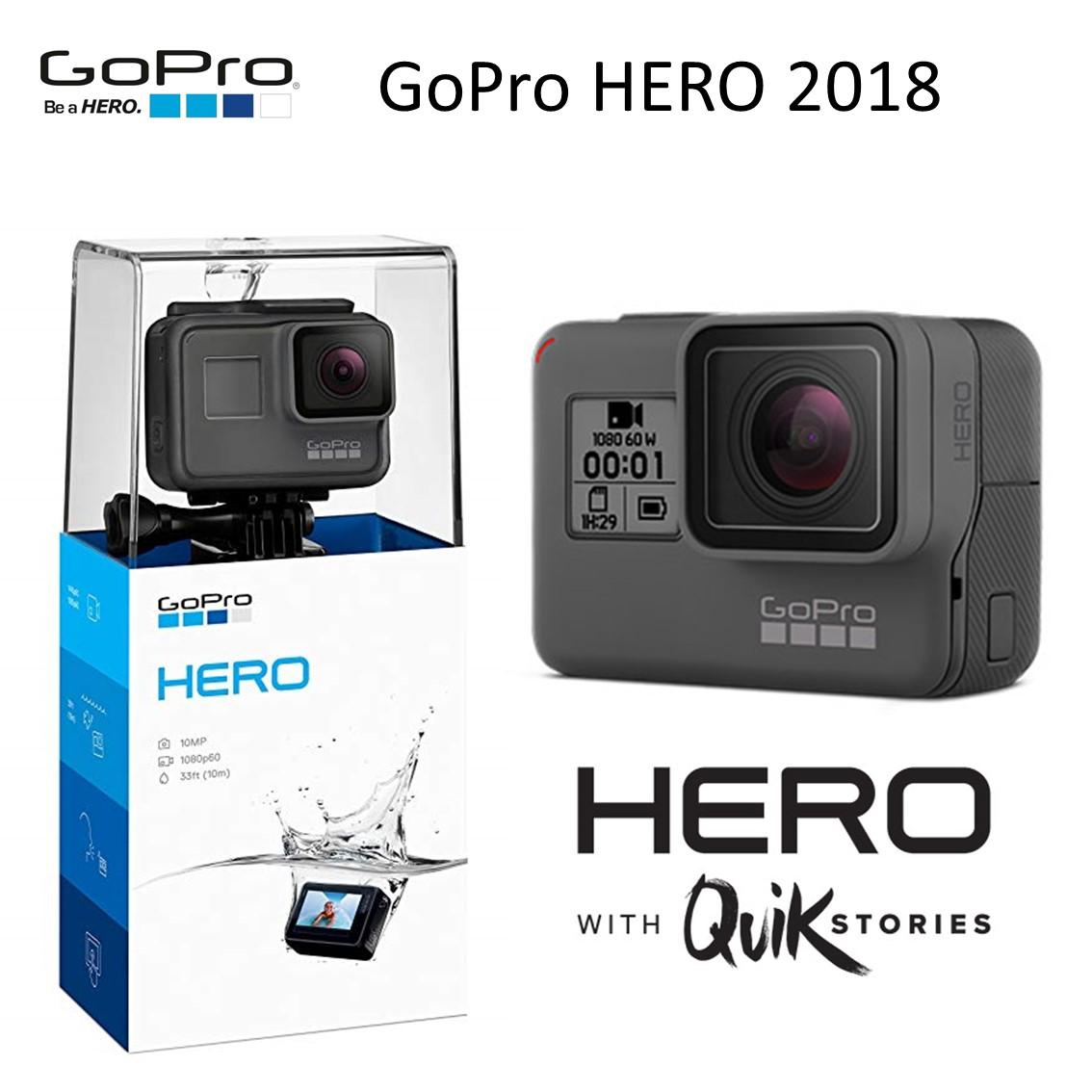 GoPro HERO 2018 with Quik Stories