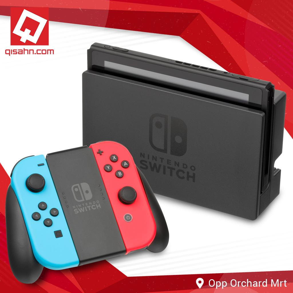 (Local Set) Nintendo Switch Console System