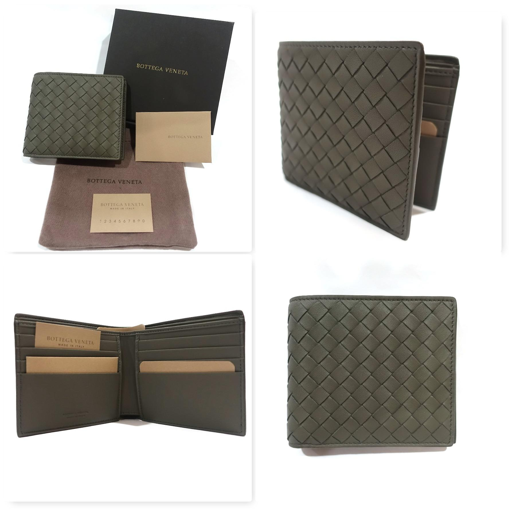 380cc2cb03 Bottega Veneta Bifold Wallet in Ebano with 8 card slots