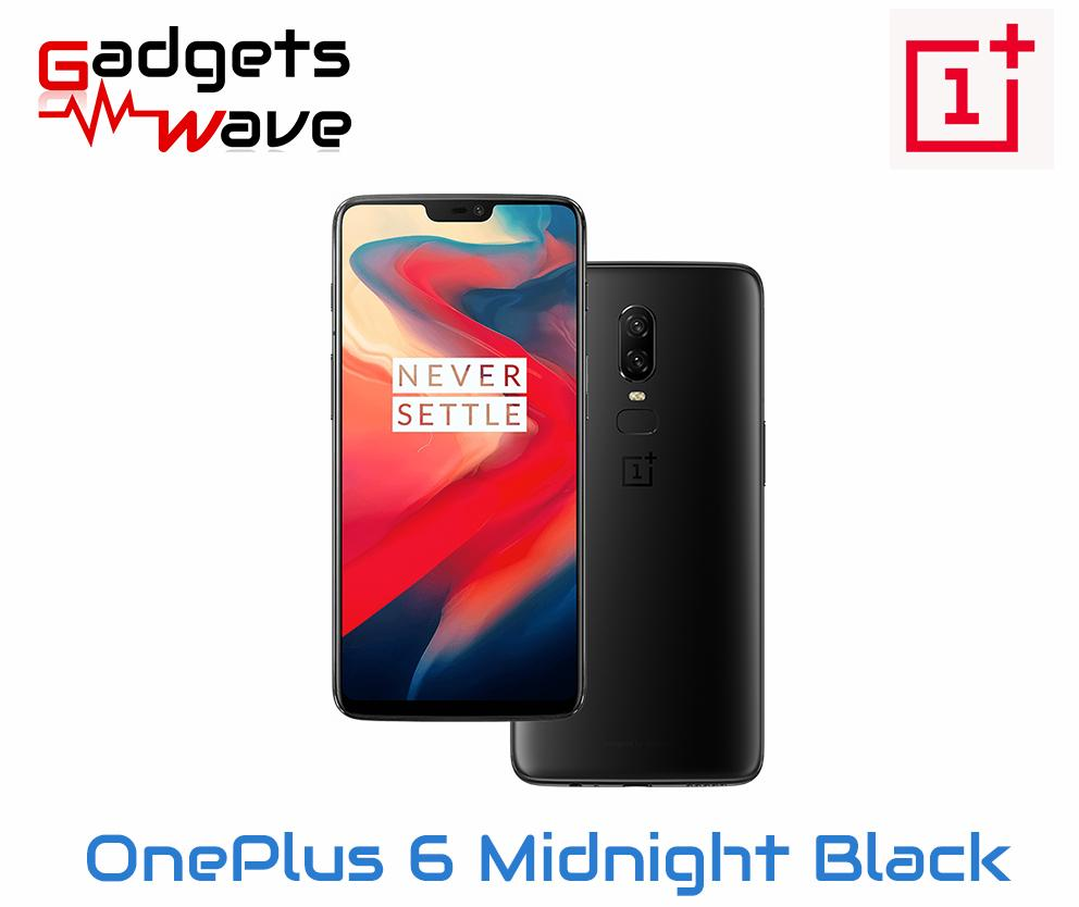 OnePlus 6 Midnight Black A6003 128GB/8GB (Local Warranty)